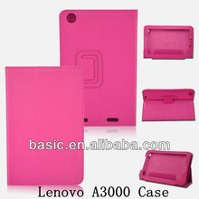 NEPPT 2014 Factory Wholesale New Style Flip Leather Case for Lenovo A3000 Smartphone & Tablet