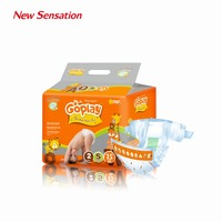 Low Price Hygiene Products Import Raw Material Baby Diaper Export to Germany (GOPLAY-005S)