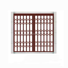 Cheap Safety Sliding Main Doors With Grill Designs