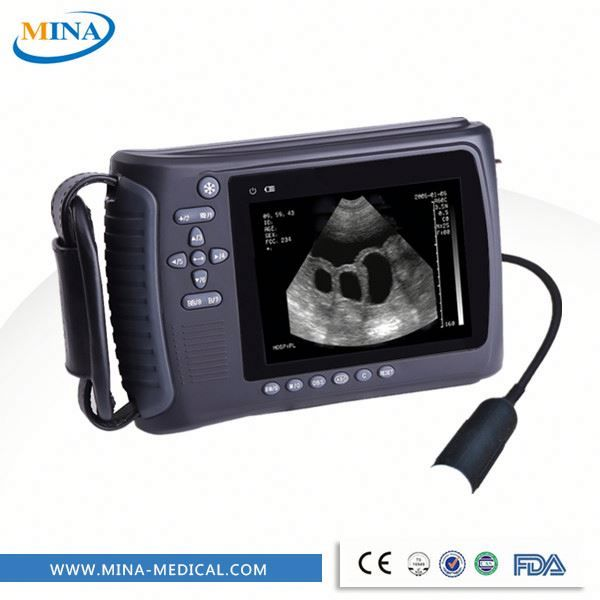 China Hospital Digital Trolley Ultrasonic Diagnosis Equipment, veterinary handheld ultrasound scanner