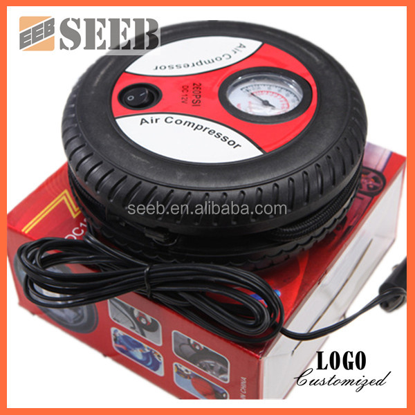 multifunction 12V mini Auto Air Filling air pump for inflatables