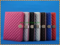 Wholesale Lambskin PU leather universal flip case for ipad 2 3 4