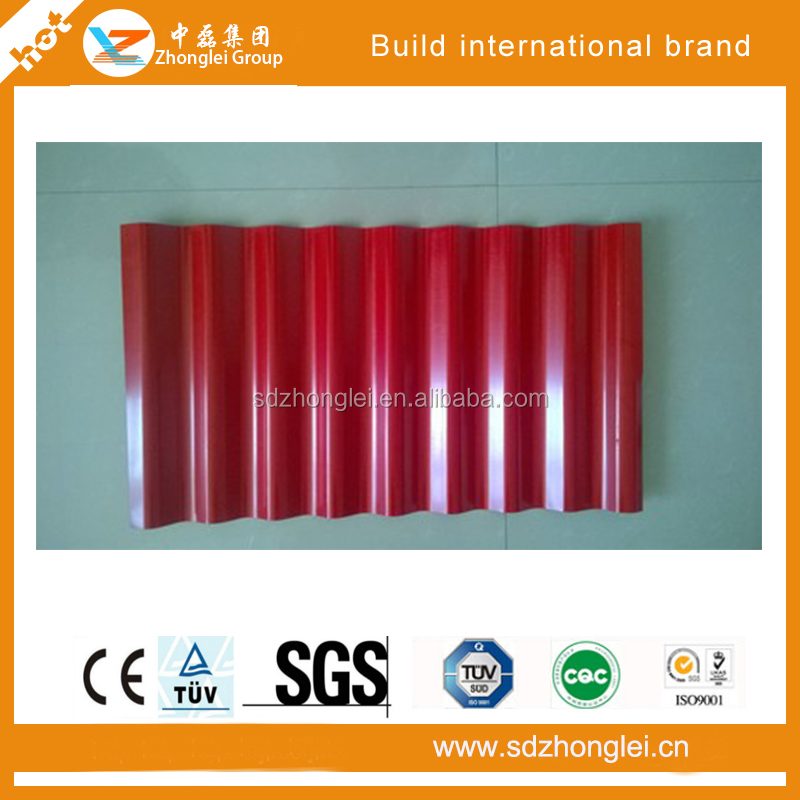 Alu-zinc corrugated roofing sheet from Shandong China