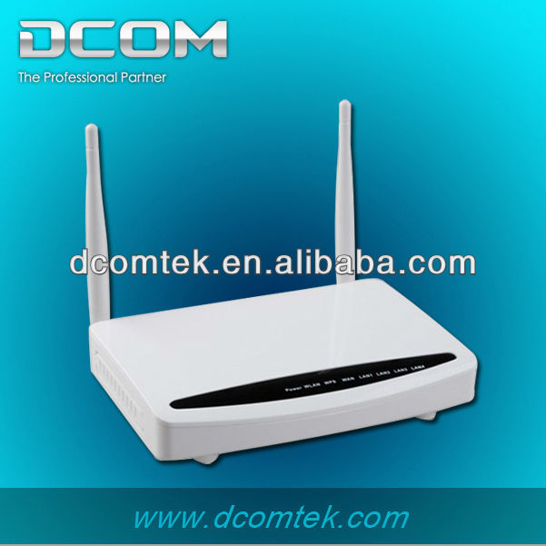 4 port 300M wireless dual band gigabit adsl2 modem router