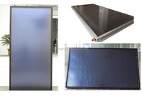 Solar key-mark flat palte panel,Low price solar collector of black frame for solar water heating system manufacture