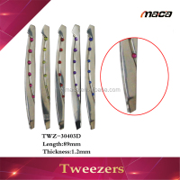 Customized bent tweezer