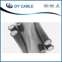 best quality 1KV Aerial insulated bundle cable / abc conductor / overhead ABC cable