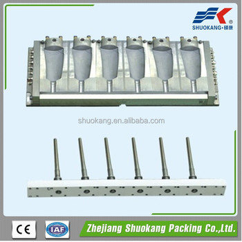 Three station Mould for PE PP bottle