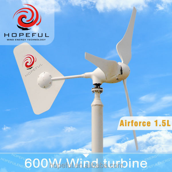new model 3/6 blades home use 600w small windmill generator