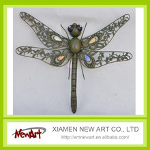 Metal dragonfly wall decor haitian metal wall art wholesale