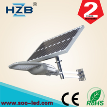 High quality All in one 10 watt integrated solar led street lamp Ip65