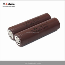 LG HG2 18650 battery 3000mah rechargeable battery for ecig mods, high discharge current 18650 battery