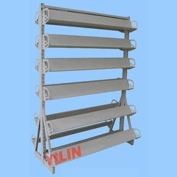 SSR02 double-sided CD/DVD Metal Display rack