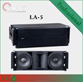 spe audio LA-5 passive dual 10 line array speaker system
