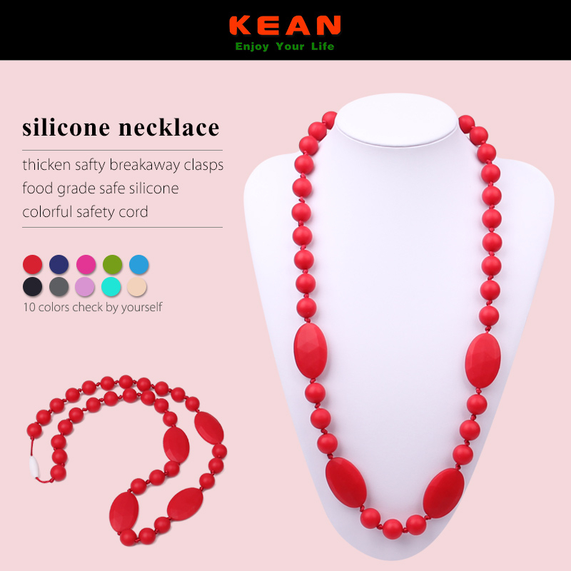 2015 Trendy Dresses Black And White Necklace Chain Design/High Quality Fashion Candy Color Silicone Beads For Girls