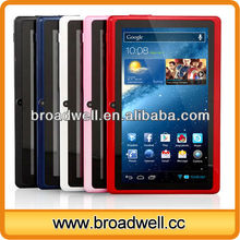 Different Color Best Selling 7 inch a13 q88 android tablets