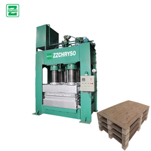 2017 hot press compressed wood pallet making machine for wooden pallet sale