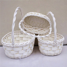 Easter Basket Cheap Food Wicker Basket Wholesale
