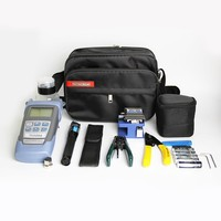 Fiber Optic FTTH Tool Kit With