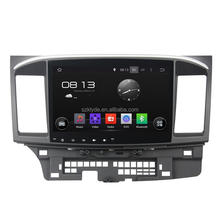 10.1 inch 4 core 1024*600 Bluetooth WIFI DAB+ 16GB android 5.1 in dash car dvd for Mitsubishi Lancer