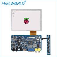 Touch Screen 800x480 HDMI DVI VGA AV input TFT LCD SKD Module raspberry pi 3 display 7 inch
