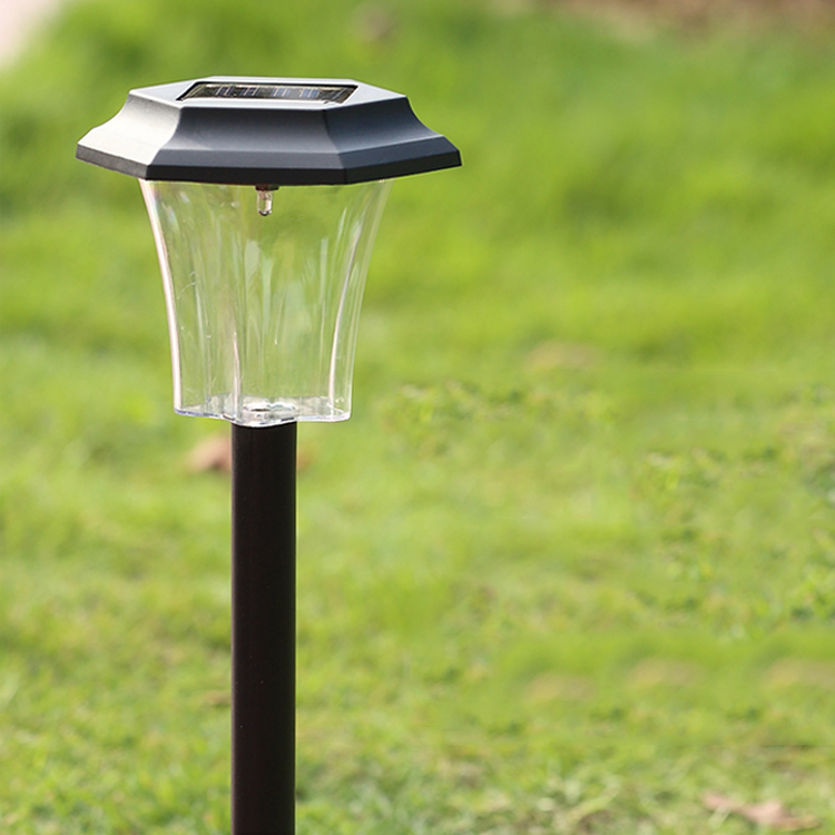 delicate garden stainless steel solar lawn light lamp