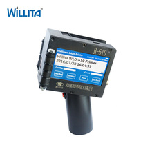 Willita Bottled Water Production Line Quick Dry Ink Hand Numbering Machine