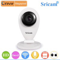 Sricam SP009 Portable Mini Wireless Wifi IP Camera for baby care Support iPhone/iPad/3G phone/Android smartphone