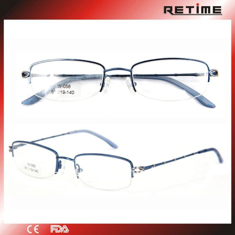 2011 latest women metal optical eyeglass frames,spectacles,eyewear(W-058)