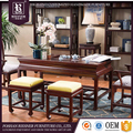 Chinese classical furniture tea table and chair set price for sitting room