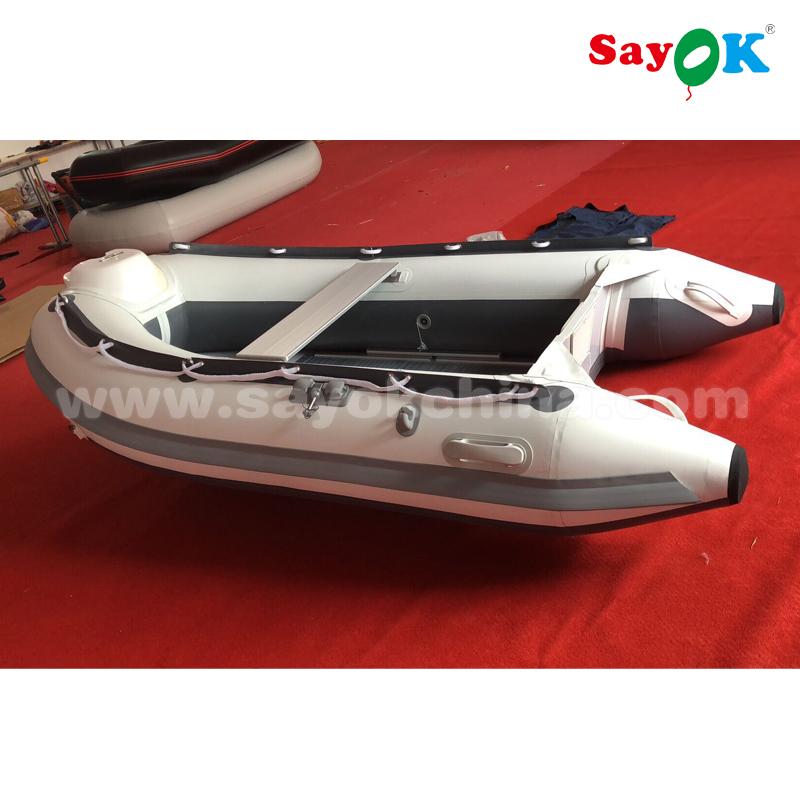 4 person 2.7m rib hypalon <strong>boat</strong> rigid inflatable <strong>boat</strong> with aluminum floor for sale