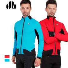 italian designed fabric full open ykk zipper invisable front pocket speical rear pocket warm unisex winter cycling jacket