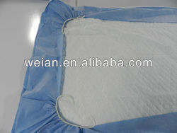 Disposable absorbent mattress cover manufacturer