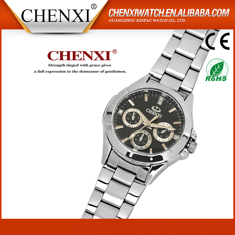 2017 Brand Luxury Alibaba China Japan Movt Quartz Watch Stainless Steel Bezel,Brand Watch,China Watch