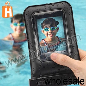 Multifunction PVC+ABS Universal Bag Waterproof Case for Samsung Galaxy S3 Mini S4 i9500 With Armband Strap