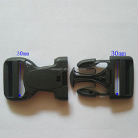 30mm Custom Plastic Cam Buckle Adjustable Slide Strap Buckle For Belt Bag
