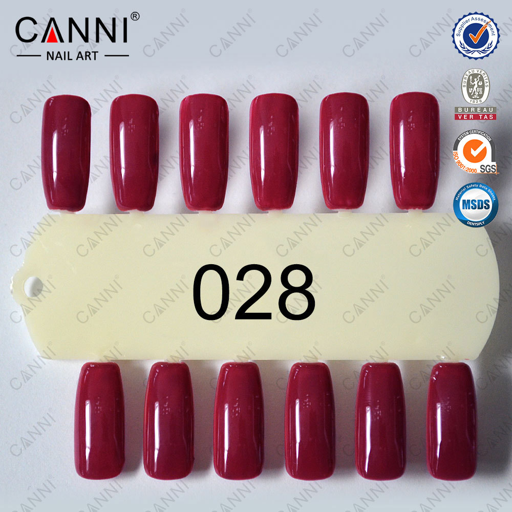30917j Wholesale Nail Art Beauty Canni 7.3ml Cherry Red Color Nails ...