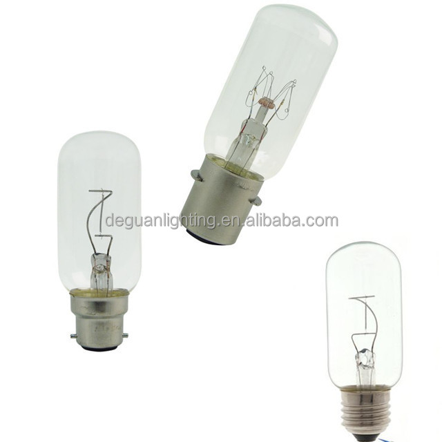 Cheaper T38 bayonet Navigation lamps Clear incandescent T-bulbs nautical lights for sale