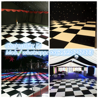 new product led rgb crystal rainbow color effect light weight led dance floor for disco xxx pohot