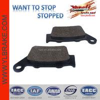 Semi-metallic Motorcycle Brake Pads for YAMAHA-TT 600 R,High performance Parts Disc Motorcycle Brake Pads