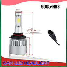 auto parts, led hot Super white LED headlight kit h1 h4 h11 h13 h16 880 HB3 COB 12V 24V 8000LM s2 led headlight conversion kit