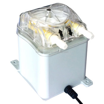 1000ml/mim, 30psi output, 12Vdc Peristaltic Pump with FDA approved PharMed BPT peristaltic tube and replaceable pump head