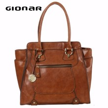 Top Brand Hot Selling Leather women handbag brand