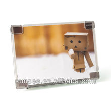 acrylic transparent clear glass picture frame