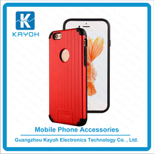 [kayoh]Hair Line Armor Hybrid Brushed phone accessories Phone Case for iPhone 7 Shockproof Slim Hard Shell
