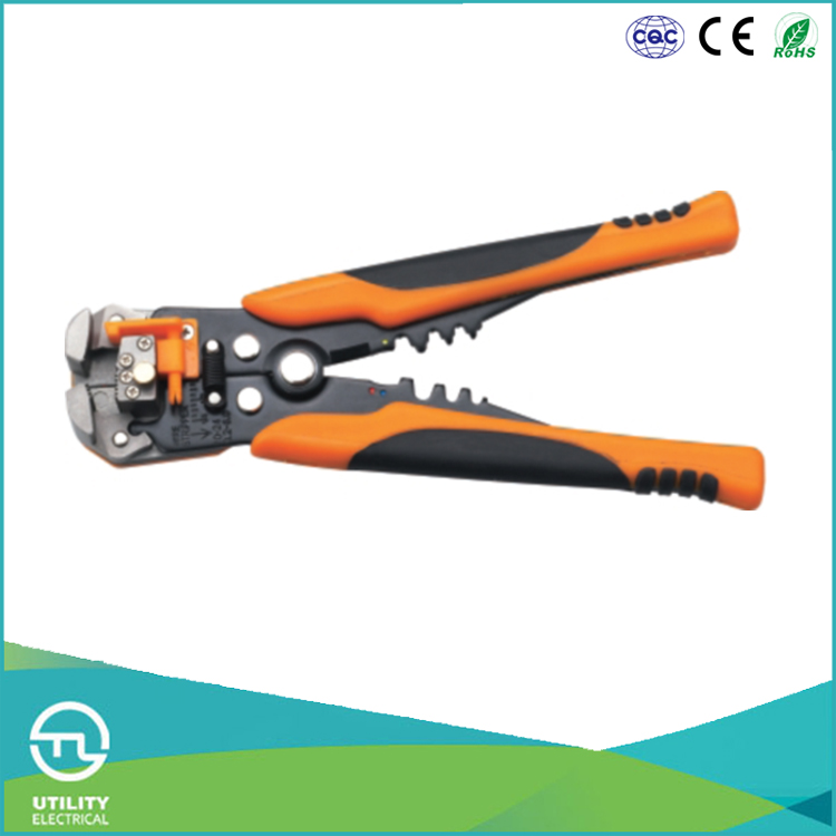 UTL Export Products Energy Saving 0.2-6mm2 Capacity Electric Wire Stripper Criming Plier