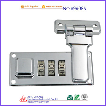 Perfect 3 digit code lock for case / briefcase combination lock 9908A