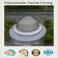 customized design polycarbonate skylight plastic domes for crafts