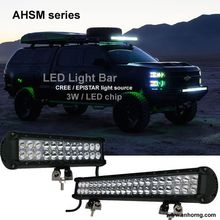 High Luminous Jeep Truck Boat Accessories Car Auto Lighting LED Lamp 20 inch 126W Dual Rows led light bar cover