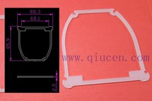 Die Cut Sealing Gasket / Stamped Silicone Gasket Seal / Molded Washer Gasket